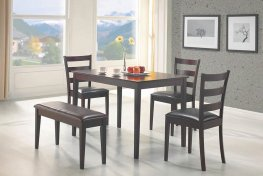 Taraval Capp. 5-Pc. Dining Set With Bench