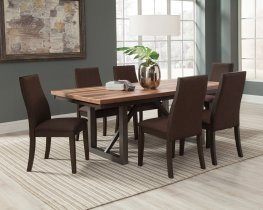 Spring Creek Industrial Natural Walnut 5 Pc. Set
