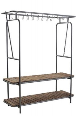 Clothes And Shoe Standing Rack