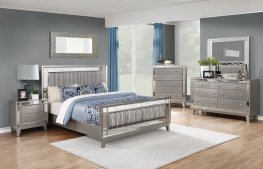 Leighton Contemporary Metallic Full 5-Pc.