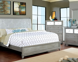 Bryant Ii Silver 5 Pc. Queen Set