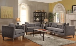 Ellery Grey Sofa & Love