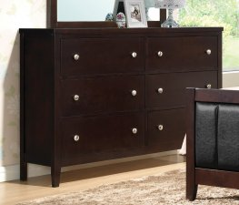Carlton Capp. Six-Drawer Dresser