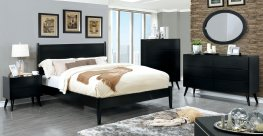 Lennart Ii Black 5 Pc. Queen Set