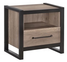 Edgewater Weathered Oak Nightstand