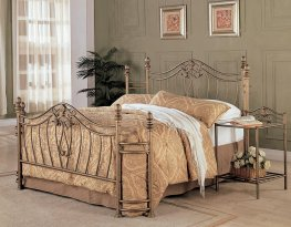 Sydney Antique Brushed Queen Bed