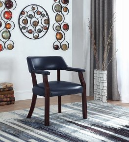 Modern Blue Guest Chair