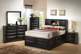 Briana Transitional Black E. King 5-Pc.
