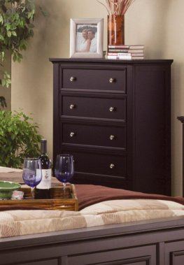 Sandy Beach Capp. Five-Drawer Chest