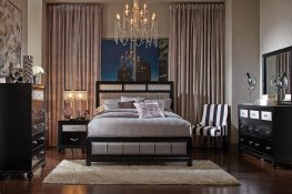 Barzini Transitional Cal. King Bed