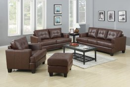 Samuel Transitional Brown 3 Pc.