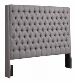Camille Grey Upholstered Cal. King Headboard