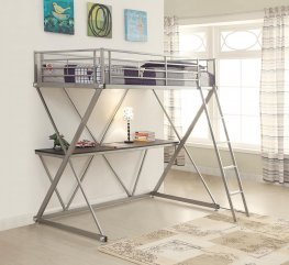 Twin Workstation Loft Bed