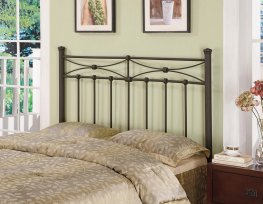 Rustic Metal Headboard