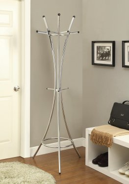 Contemporary Capp. Coat Rack