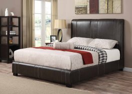 Caleb Dark Brown Twin Bed