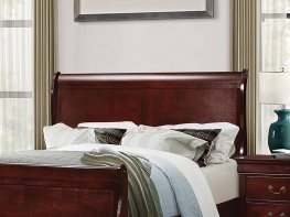 Louis Philippe Wood Headboard