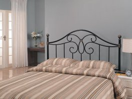 Black Iron Queen Headboard