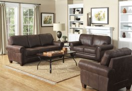 Allingham Traditional Brown 2 Pc.