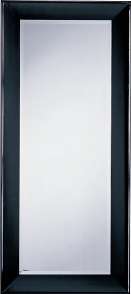 Modern Capp. Beveled Floor Mirror