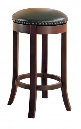 Casual Walnut 29in. Bar Stool