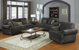 Colton Grey Sofa & Love