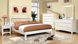 Corry White 5 Pc. Queen Set