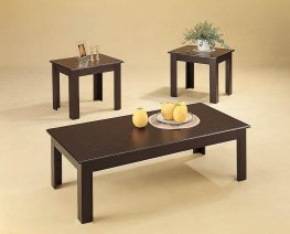 Casual Capp. Three Piece Table Set
