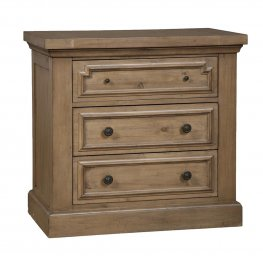 Florence Three-Drawer Nightstand