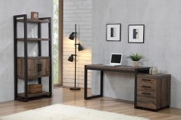 Luke Weathered Oak Writing Desk