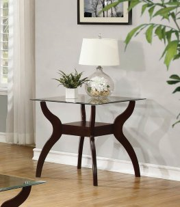 Casual Capp. End Table