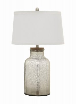 Antique Mercury Speckled Table Lamp