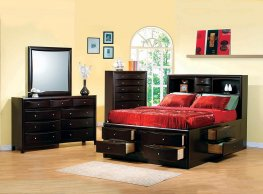 Phoenix Cal. King Bookcase Bed