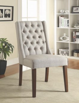 Levine Beige Accent Chair