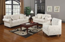 Norah Traditional White 3 Pc.