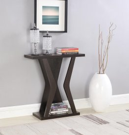 Transitional Capp. Console Table
