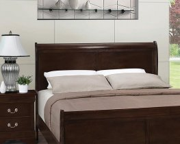 Louis Philippe Cappuccino Full Headboard