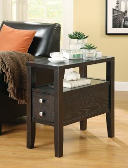 Casual Capp. Chairside Table