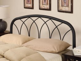 Black Q/F Headboard with Arches