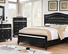 Ariston Black 5 Pc. Queen Set