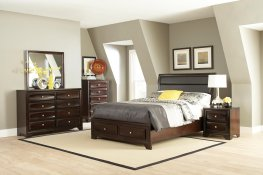 Jaxson Transitional Capp. Queen 5-Pc.