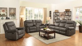 Sawyer Transitional Light Brown Sofa & Love