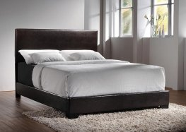 Conner Casual Dark Brown Full Bed