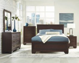 Fenbrook Dark Cocoa Queen Bed