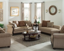 Beasley Traditional Light Brown 3 Pc.